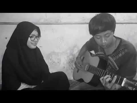 Menunggu kamu ~ anji (cover by icus feat ardial) , hidup orang kerincii 😂😂