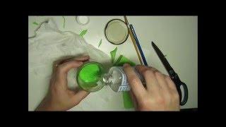 Make a handy solvent jar - Blending colored pencils.