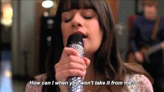 Glee - Go Your Own Way (Lyrics On Screen) HD