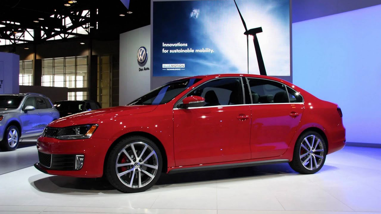 2012 volkswagen jetta gli 2011 chicago auto show youtube. Black Bedroom Furniture Sets. Home Design Ideas