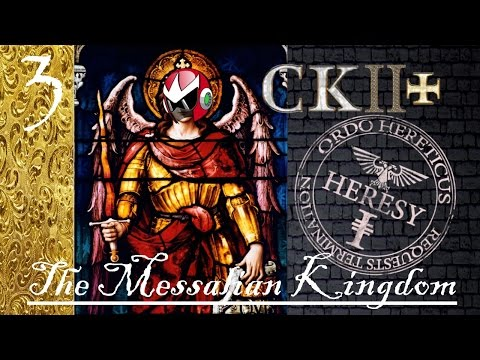 Crusader Kings 2 Reaper's Due | CK2+ Mod | Messalian Heresy Inbreeding | Part 3