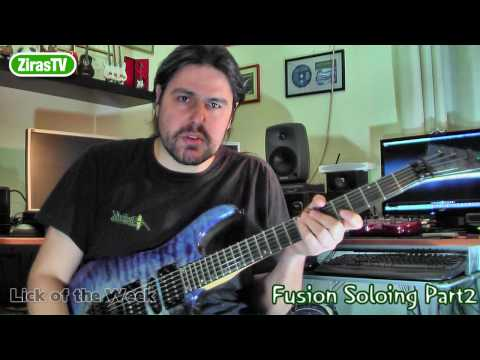 Fusion Soloing Part2 (Dorian Mode)   Lick Of The Week 76