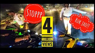 Night ride | Mumbai Traffic Police caught us | Paid 1000 INR fine |
