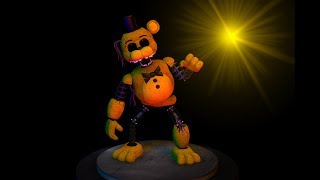 How to make ignited golden freddy in roblox fnaf