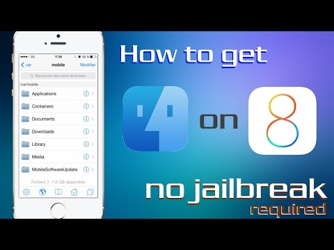 How To Get IFile Without Jailbreak On IOS 8 And IPhone 6 Or IPhone 6 Plus (FileBrowser)