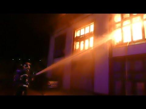 Sainte-Croix-aux-Mines : Un Incendie Ravage Un Immeuble, 18 Familles évacuées