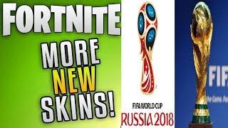 fortnite nouvelles peaux fuites et piocher des haches pour la coupe du monde!