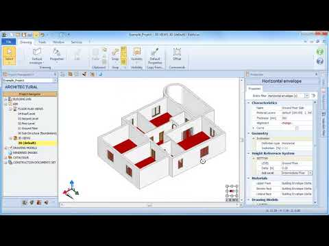 Edificius Tutorial - The horizontal building envelope Geometry (slab) - ACCA software