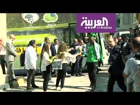 شاهد استقبال الفلسطينيين للمنتخب السعودي في رام الله  - نشر قبل 10 ساعة