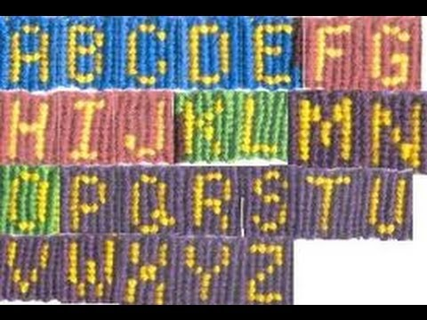 friendship bracelet letters part 7 how to the letter f friendship bracelet letter 2166