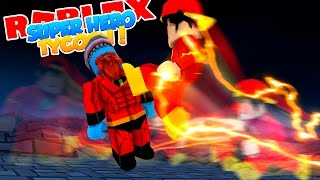ROBLOX Adventure - THE FLASH vs Mr. INCREDIBLE!!