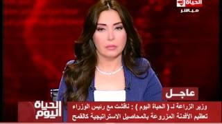 فيديو.. وزير الزراعة: السيسي أوصى بتأمين الغذاء للمصريين
