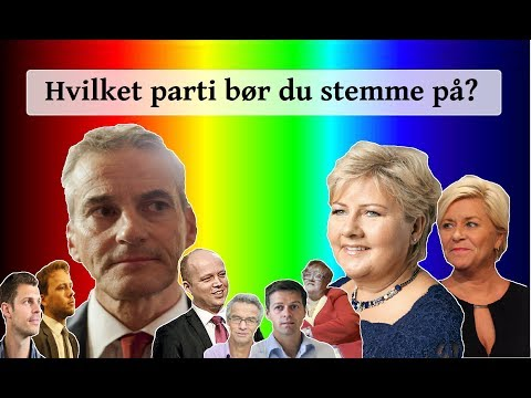 De Politiske Partiene i Norge