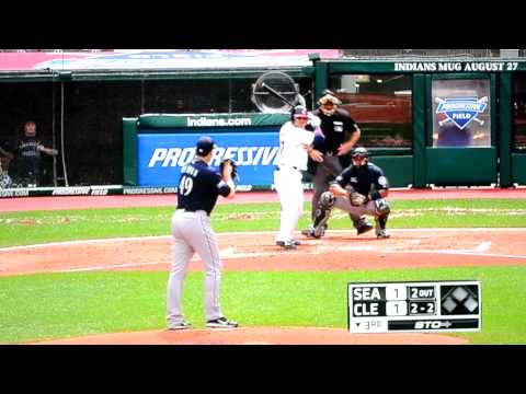 Earthquake hits third inning of Cleveland Indians game 8-23-2011