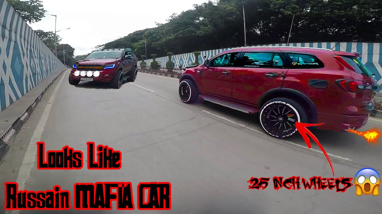 Bangalore's Most Aggressive FORD ENDEAVOUR with 25 INCH Alloys    Mirzapur Style Intro & Outro   