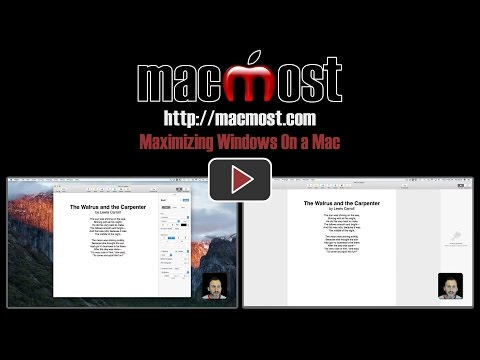 Maximizing Windows On A Mac (#1363)