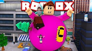 I EAT A WHOLE CITY AND I MAKE A GIANT Cerso roblox in Spanish