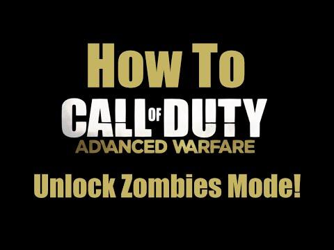 How to Unlock Zombies Mode!   Call of Duty: Advanced Warfare
