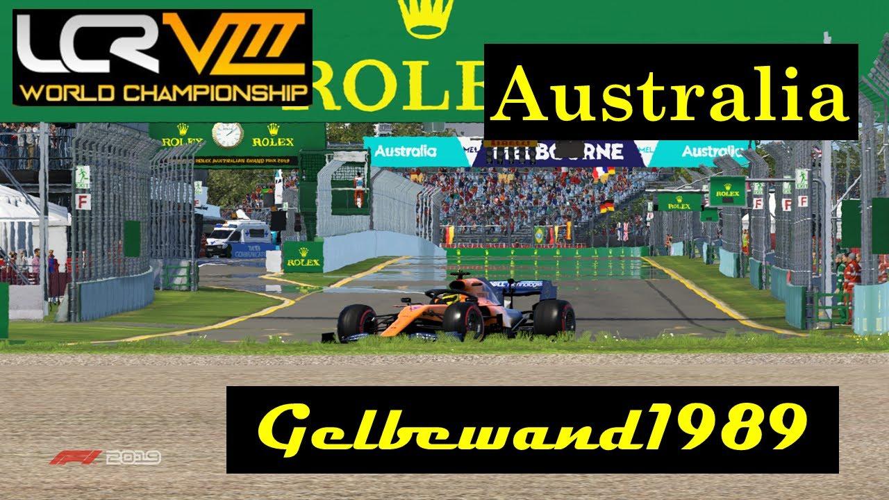 LCR | Australia | F1 2019 | Pc | Gelbewand 1989 - YouTube