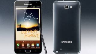 Samsung Galaxy Note Hands On First Impressions