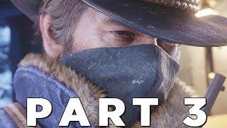 RED DEAD REDEMPTION 2 Walkthrough Gameplay Part 3 - TRAIN (RDR2)