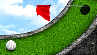 THE MOST DIFFICULT PUTT! - GOLF IT