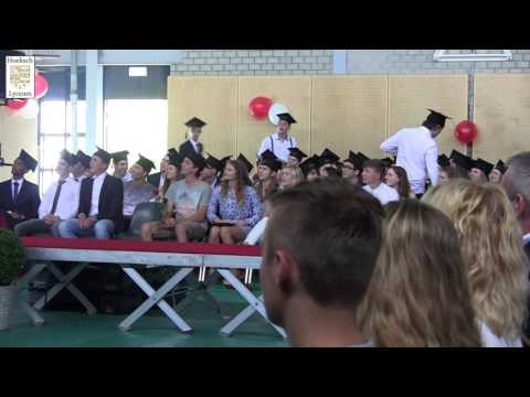 Diploma Uitreiking Havo - Hoeksch Lyceum 2016 (HLTV)