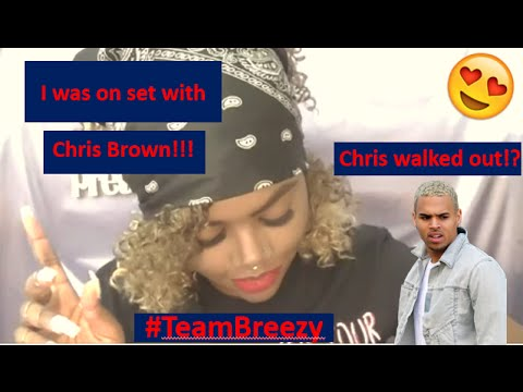 Storytime: I was in CHRIS BROWN's music video! (Not clickbait!)