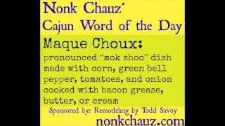 Cajun Word Of The Day #8