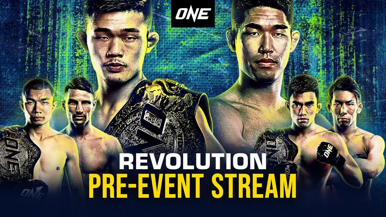 Download 🔴 [Watch In HD] ONE: REVOLUTION Pre-Event Stream