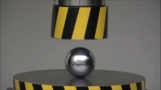 Hidrolik Pres - Experiment Hydraulıc Press 100 Ton