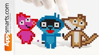 Make Pango and Fox with Tayasui Blocks - crafts tutorial (with cool explosions in the end 😉)