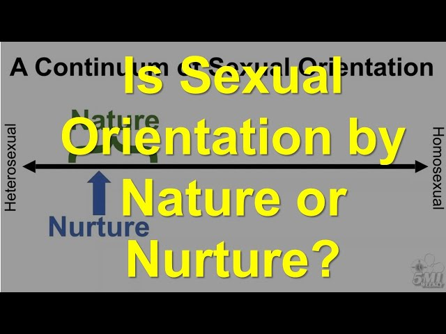 Is Sexual Orientation by Nature or Nurture