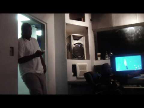 Dblack wit Mr Lee and Slim thugs Bro @ BOSS HOG Studio H town