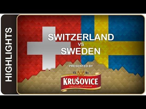 Sweden kept up the pressure in Group A - Switzerland vs Sweden - #IIHFWorlds 2016 - 동영상