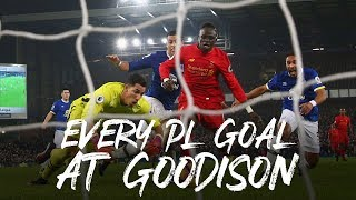Every Premier League goal at Goodison | From Gary Mac to Sadio Mane and more