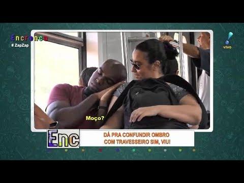 Ombro Amigo Deixa Pessoas Constrangidas No Transporte Público