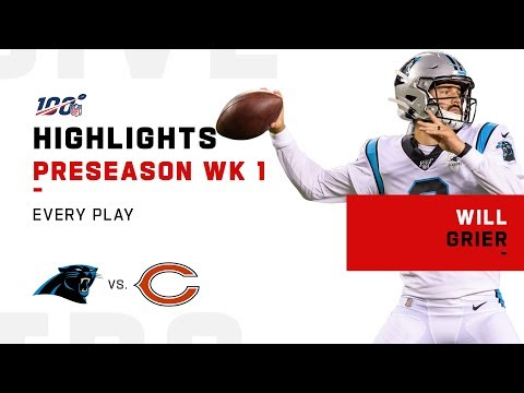Every Play from Will Grier in NFL Debut | 2019 Highlights
