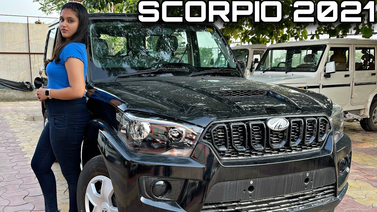 Mahindra Scorpio S5 Black | New Model 2021 | Review , Price - 13 Lakh