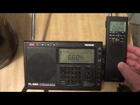 Gander Radio Volmet On GP5 SSB VS Tecsun PL 680