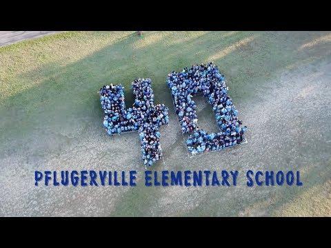 Happy 40th Anniversary Pflugerville Elementary School