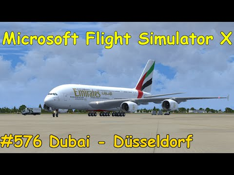 Let's Play Microsoft Flight Simulator X Teil 576 Dubai - Düs
