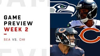 Seattle Seahawks vs. Chicago Bears | Week 2 Game Preview | NFL Playbook