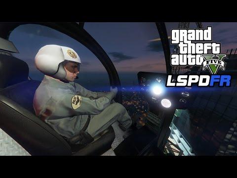 GTA 5 - LSPDFR Playing As A Cop SP - Episode #39: SWAT Gunship