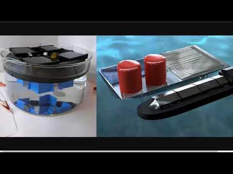 Using Salt Water as Fuel - Floating Solar Electrolysis