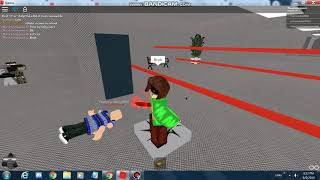 Roblox SS trolling Ecape from the Area.