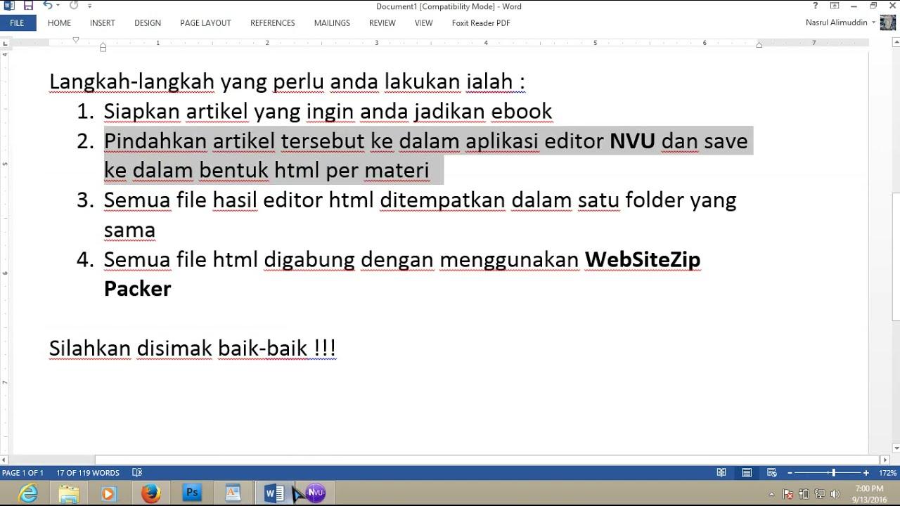 Ebook Format Digibook