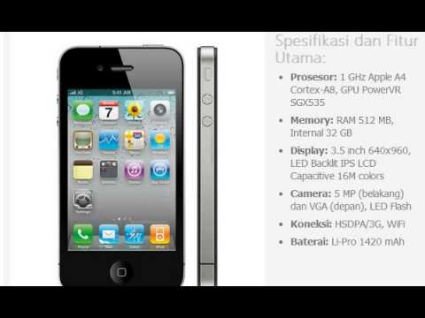 Harga Hp Apple Iphone 4 32gb
