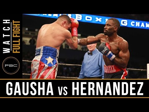 Gausha vs Hernandez FULL FIGHT: PBC on Bounce - February 10, 2017