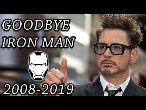 Robert Downy Jr. - Goodbye To Iron Man and Tony Stark